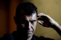 São Paulo (SP), 23/05/2018, Fábio Carille anuncia sua saída do time do Corinthians Paulista - O técnico de futebol Fábio Carille concedeu entrevista coletiva nesta quarta(23), no hotel Grand Hyatt na zona sul de São Paulo, para anunciar oficialmente sua saída da equipe do Corinthians. Carille irá comandar o time do Al-Wehda, da Arábia Saudita. Foto: Marcelo Chello/CJPress/Agência O Globo