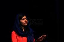 BRA54. SAO PAULO (BRASIL), 09/07/18. - La activista paquistaní y el Premio Nobel de la Paz, Malala Yousafzai, participó el lunes 9 de julio en Sao Paulo, de un debate sobre educación y empoderamiento femenino. EFE/Marcelo Chello