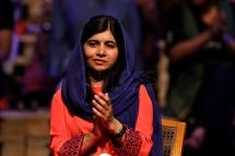 BRA55. SAO PAULO (BRASIL), 09/07/18. - La activista paquistaní y el Premio Nobel de la Paz, Malala Yousafzai, participó el lunes 9 de julio en Sao Paulo, de un debate sobre educación y empoderamiento femenino. EFE/Marcelo Chello