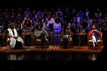 BRA57. SAO PAULO (BRASIL), 09/07/18. - La activista paquistaní y el Premio Nobel de la Paz, Malala Yousafzai, participó el lunes 9 de julio en Sao Paulo, de un debate sobre educación y empoderamiento femenino. EFE/Marcelo Chello