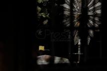 """SAO PAULO, SP, 31.07.2018: VEL""""RIO-BICUDO - O corpo do jurista e fundador do Partido dos Trabalhadores, HÈlio Pereira Bicudo, morto nesta terÁa-feira, 31, foi velado no Funeral Home em S""""o Paulo. (Foto: Marcelo Chello/CJPress/Folhapress)"""
