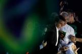 """SAO PAULO, SP, 05.08.2018: ELEI«'ES-PSL - O candidato ‡ presidÍncia da rep˙blica pelo PSL, Jair Bolsonaro, durante convenÁ""""o estadual do partido, na zona norte de S""""o Paulo, neste domingo, 5. (Foto: Marcelo Chello/CJPress/Folhapress)"""