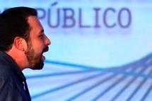 São Paulo (SP), 07/08/2018, Presidenciáveis são sabatinados em SP - O candidato à presidência da república pelo PSOL, Guilherme Boulos, foi sabatinado durante o fórum GovTech Brasil 2018, nesta terça-feira(7), em São Paulo. Foto: Marcelo Chello/CJPress/Agência O Globo