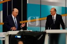 Henrique Meirelles(MDB) e Geraldo Alckmin(PSDB)