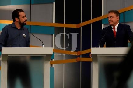 Guilherme Boulos(PSOL) e Álvaro Dias(Podemos)