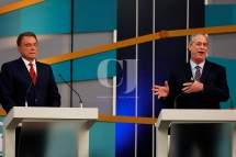 Álvaro Dias(Podemos) e Ciro Gomes(PDT)