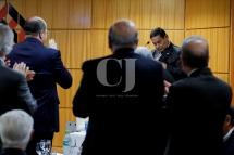 """O vice-candidato na chapa de Jair Bolsonaro ‡ presidÍncia, Hamilton Mour""""o(PRTB), disse, nesta segunda-feira(17), que Jair Bolsonaro como estadista que È n""""o est· pensando nas prÛximas eleiÁıes, mas nas prÛximas geraÁıes. Mour""""o participou em S""""o Paulo, de um ciclo de debates na sede do Secovi-SP. Foto: Marcelo Chello/CJPress"""
